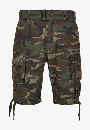 Shorts - olive camo