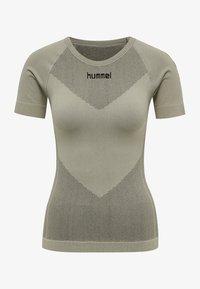 Hummel - Sports shirt - london fog - 3