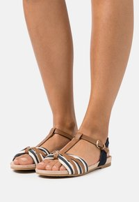 TOM TAILOR - Sandals - navy - 0