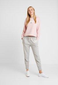 GAP - GAP LOGO - Teplákové kalhoty - light heather grey - 1