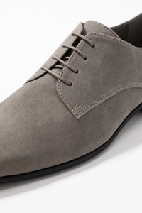 Pier One - Smart lace-ups - grey - 5