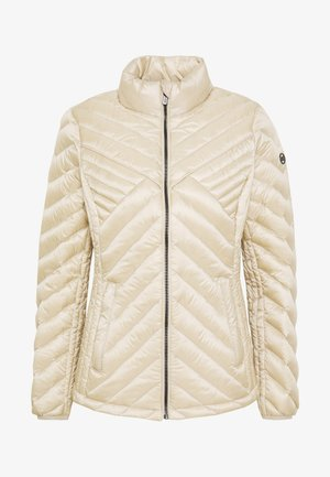 FITTED PACKABLE PUFFER - Chaqueta de plumas - dune