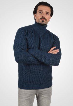 CARRIZO - Pullover - dress blues