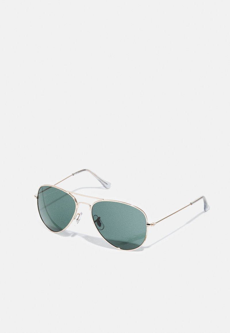 Jack & Jones - JACRYDER SUNGLASSES - Sunglasses - bright gold-coloured