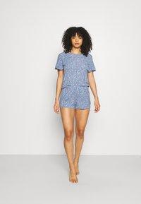 Marks & Spencer London - DITSY SHORTIE - Pyjamas - chambray - 1