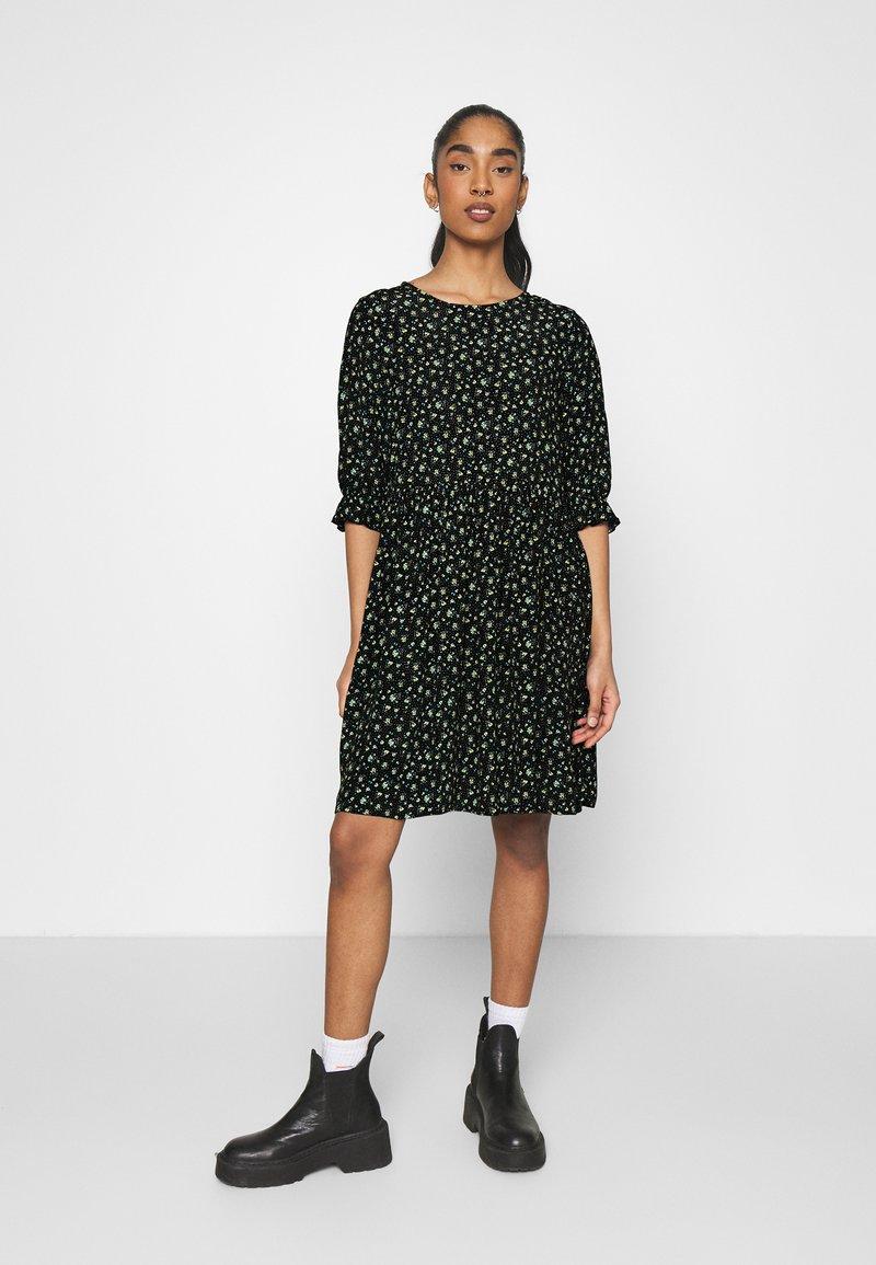 Even&Odd - Day dress - black/yellow