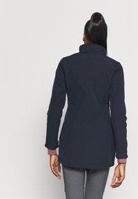 Icepeak - UHRICHSVILLE - Soft shell jacket - dark blue - 3