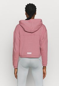 Puma - PAMELA REIF X PUMA COLLECTION FULL ZIP HOODIE - veste en sweat zippée - mesa rose - 2