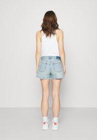 Abercrombie & Fitch - Denim shorts - blue denim - 2