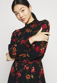 ONLY - ONLNOVA LUX SMOCK DRESS - Sukienka letnia - black - 3