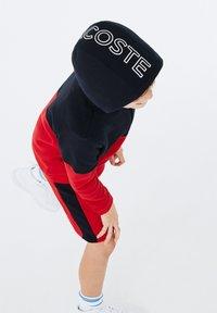 Lacoste Sport - veste en sweat zippée - bleu marine / rouge / blanc - 2