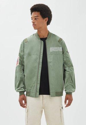 Blouson Bomber - dark green