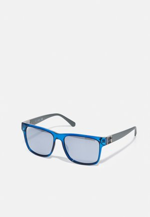 UNISEX - Sunglasses - shiny blue/smoke