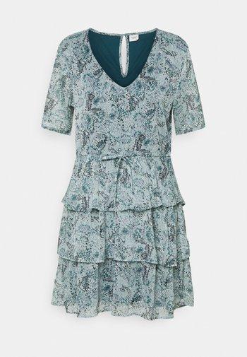 JDYLINDA DRESS - Denní šaty - blue surf