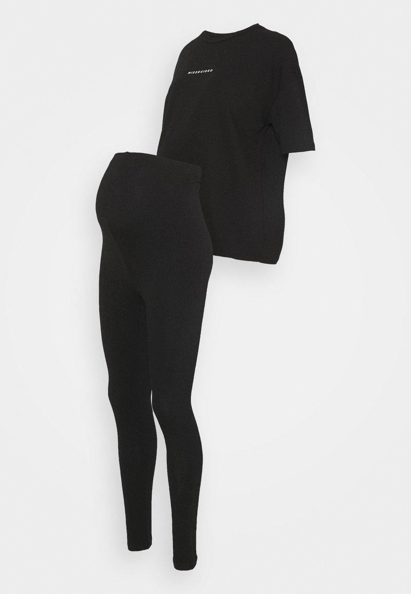 Missguided Maternity - MATERNITY - Pyjama set - black