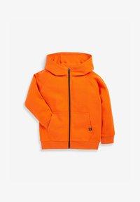 Next - Zip-up sweatshirt - orange - 0