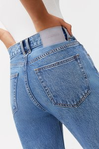 PULL&BEAR - MOM - Relaxed fit jeans - light blue - 4