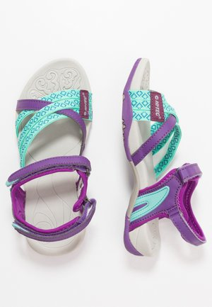 SAVANNA II - Walking sandals - purple