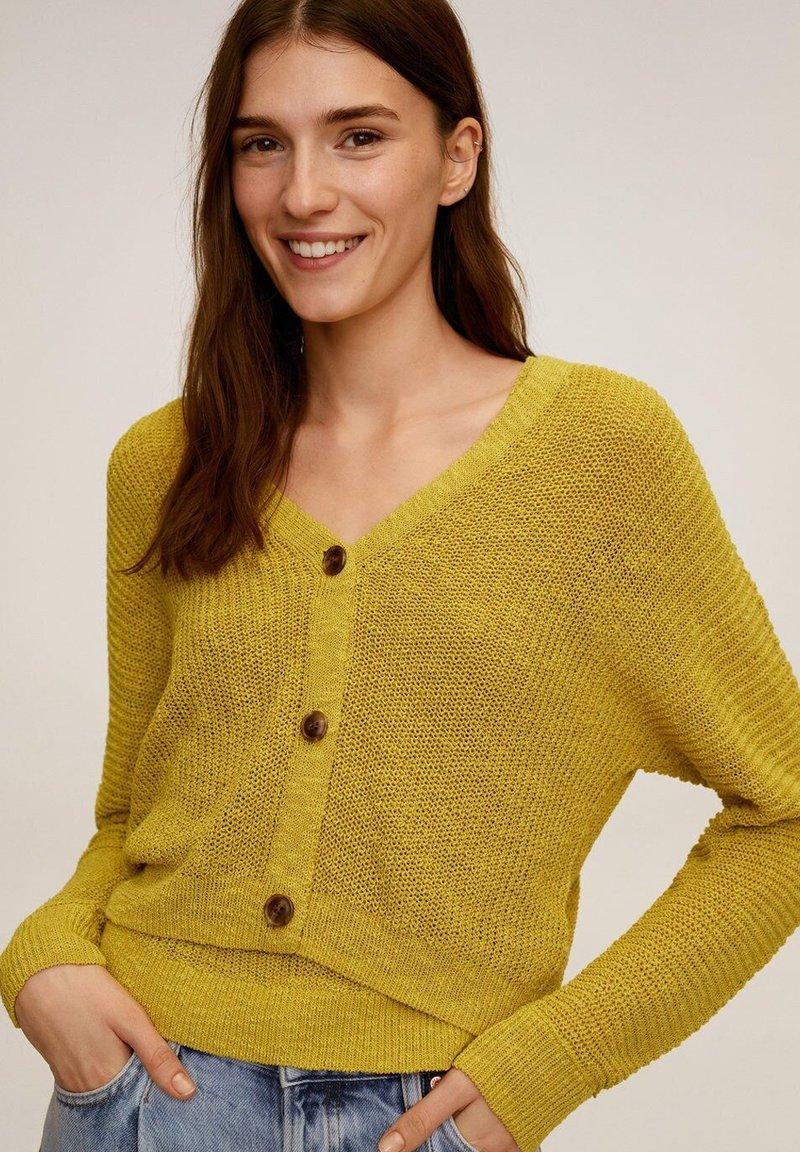 Mango - CULTUR - Vest - limette