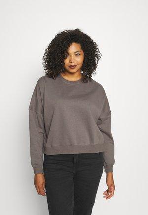 CLASSIC CREW NECK - Sweatshirts - ash grey