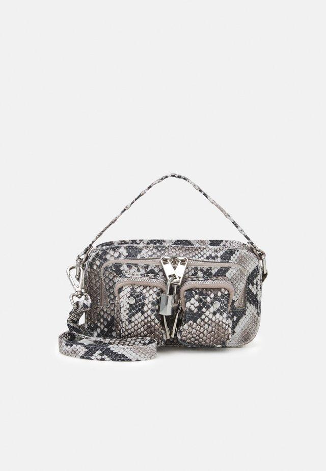 HELENA SNAKE DELUXE - Across body bag - white