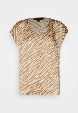 SOFT - Print T-shirt - warm zebra