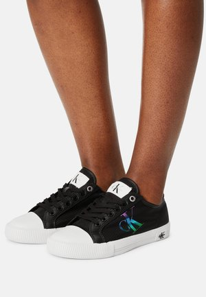 VULCANIZED LACEUP - Trainers - black