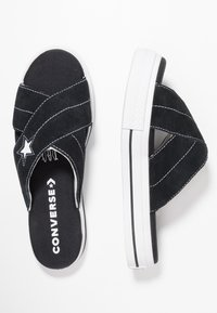 Converse - ONE STAR  - Mules - black/egret/white - 3