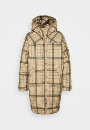 RUT PUFFER JACKET - Wintermantel - beige/green