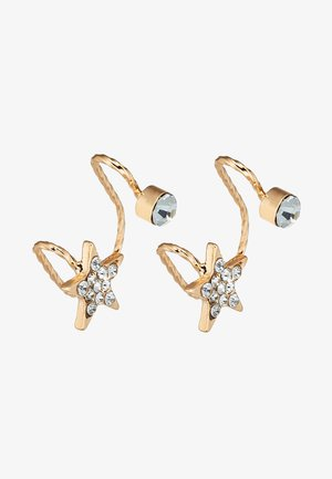 EAR CUFF 2 PACK - Earrings - gold-coloured