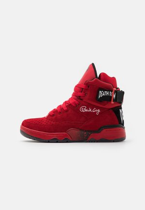 33 DEATH ROW - High-top trainers - red