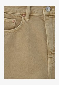 PULL&BEAR - Denim shorts - mottled beige - 4