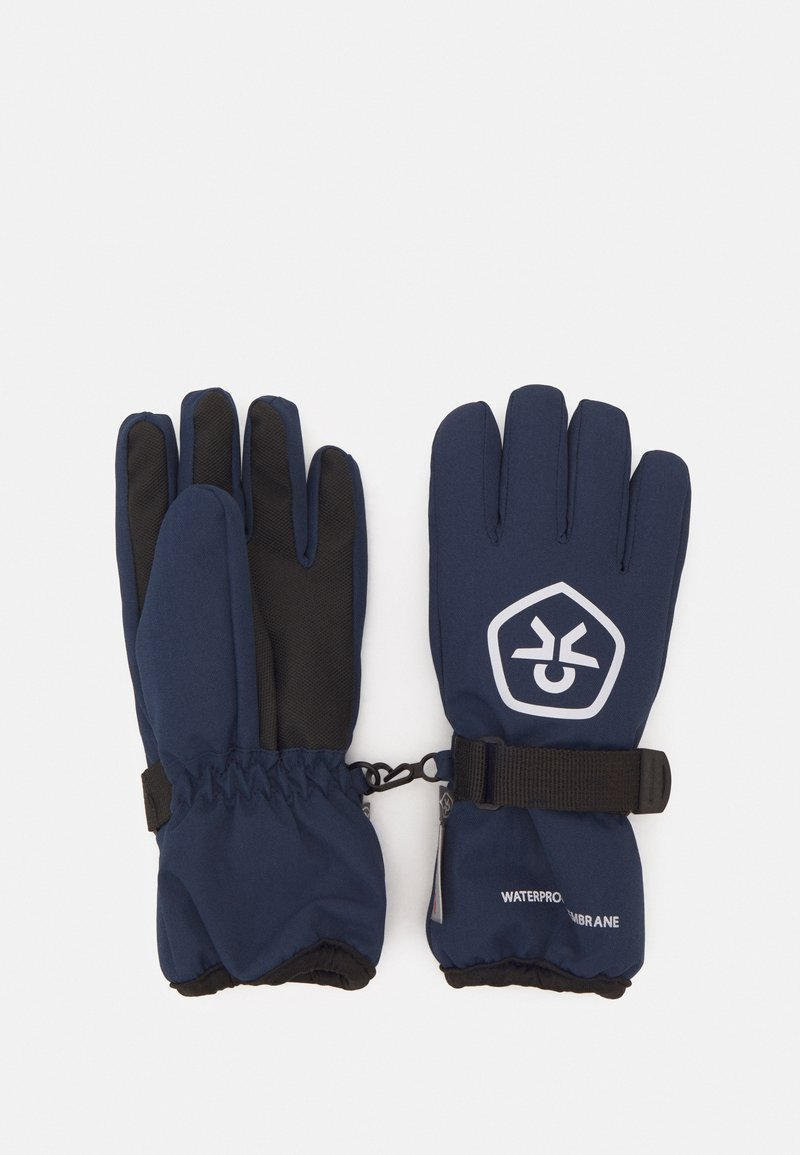 Color Kids - GLOVES WATERPROOF UNISEX - Gloves - dress blues