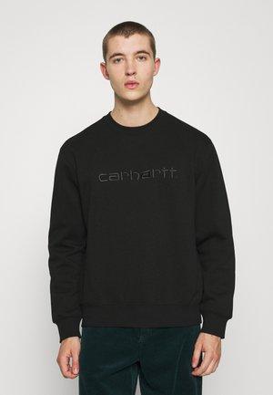 CARHARTT - Sweatshirt - black/black
