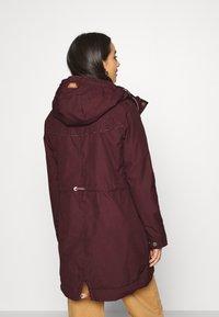 Ragwear - CANNY - Winter coat - wine red - 2