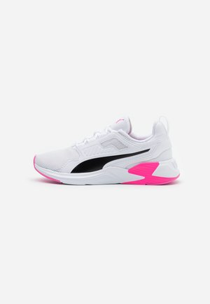 DISPERSE XT - Sports shoes - white/luminous pink