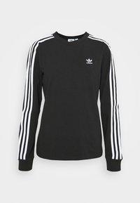 3-STRIPES ADICOLOR - Long sleeved top - black