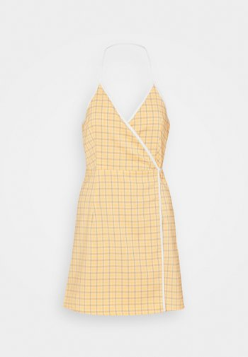 MALAGA DRESS - Day dress - yellow