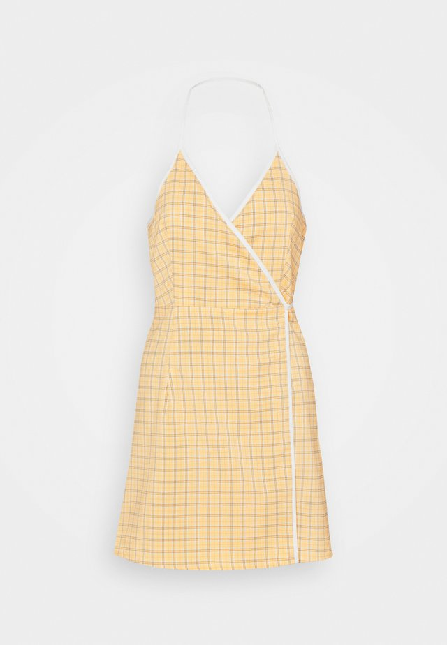 MALAGA DRESS - Korte jurk - yellow