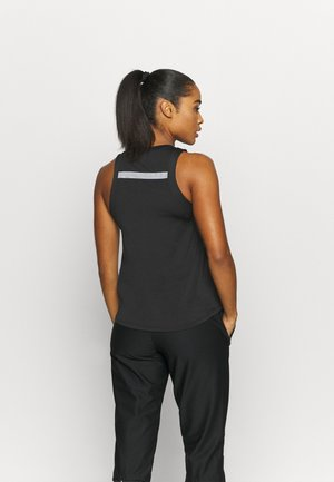 AIR TANK - Sports shirt - black/silver