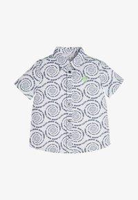 Guess - GUESS HEMD ALLOVER-PRINT - Shirt - mehrfarbig, grundton blau - 0