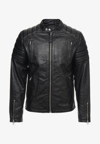 Schott - FUEL - Leather jacket - black - 4