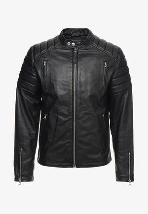 FUEL - Læderjakker - black