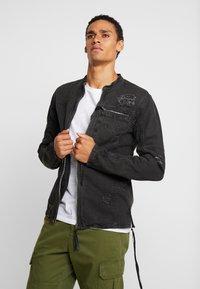 Be Edgy - BETRAVER - Denim jacket - black used - 0