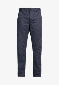 J.CREW - MILITARY CAMP PANT - Trousers - railroad navy - 4