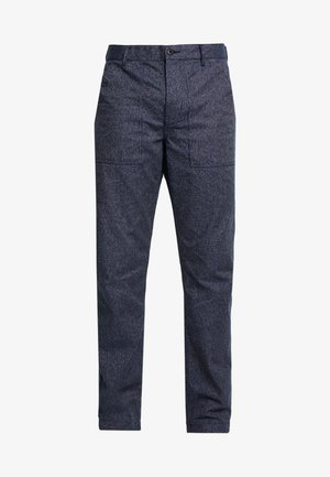 MILITARY CAMP PANT - Tygbyxor - railroad navy