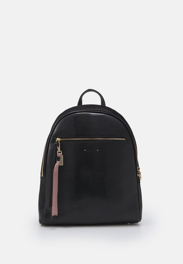 BACKPACK CITY BLACK L - Reppu - black