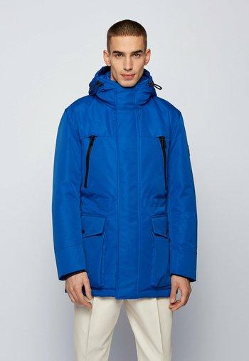 DEMOS - Down coat - open blue