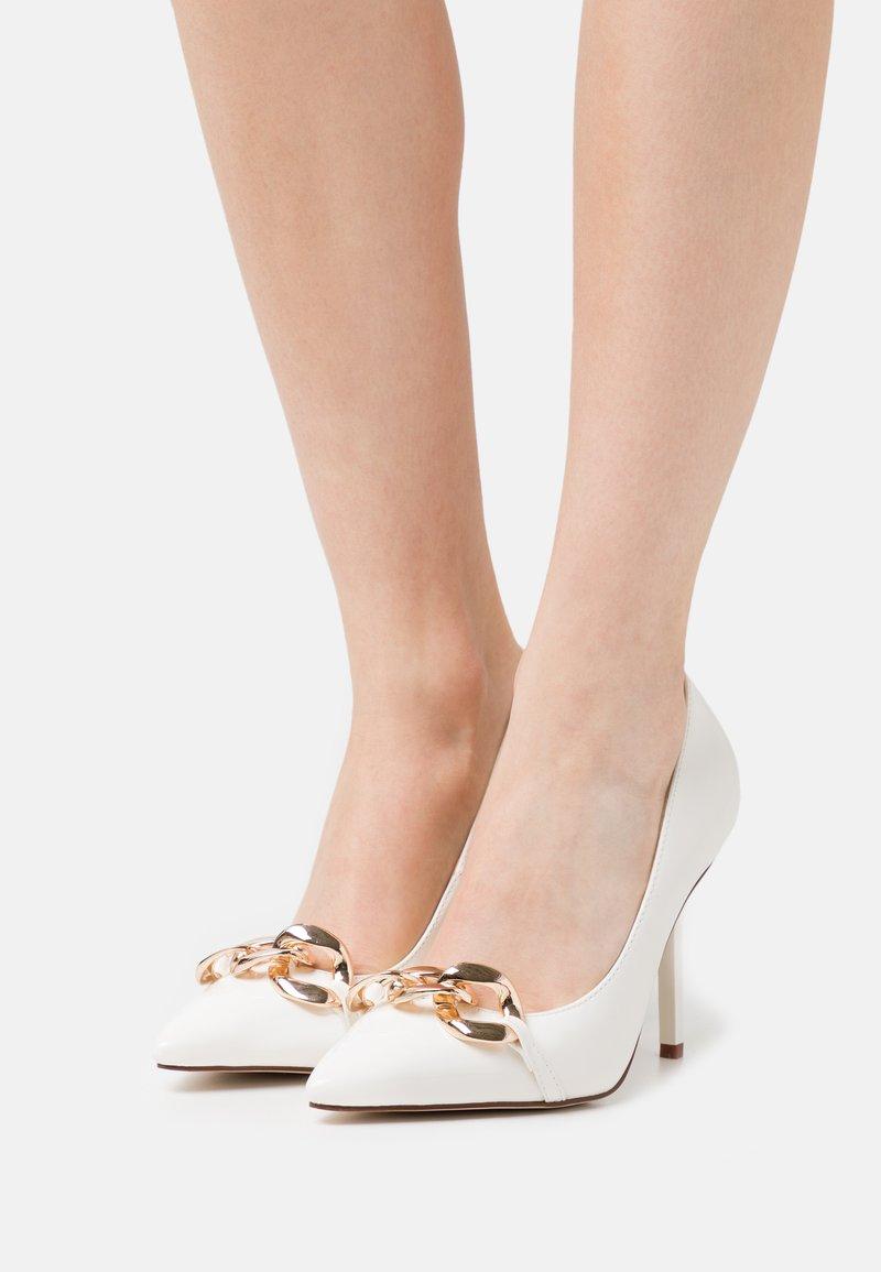 RAID - RORI - High heels - white patent