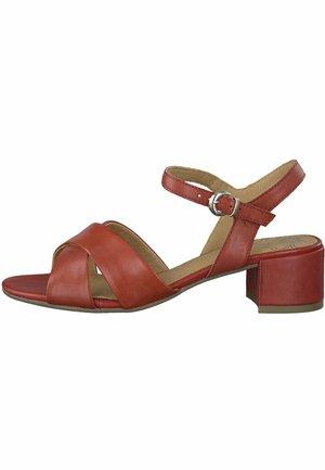 MARCO TOZZI - Sandals - chili